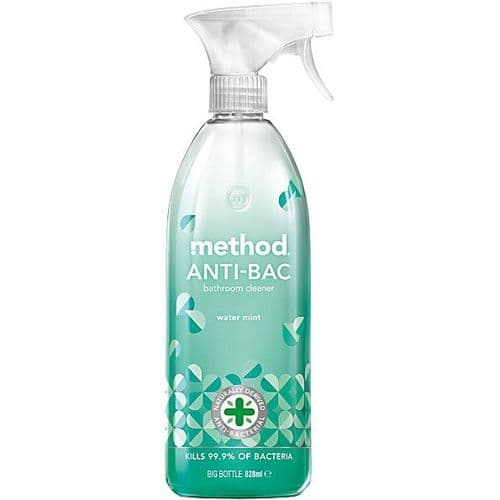 METHOD Anti Bac Batheroom Water Mint